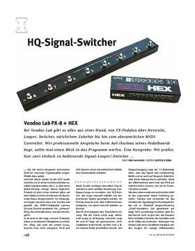 HEX Audio Loop Switcher