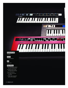 Yamaha Reface Mini-Keyboards