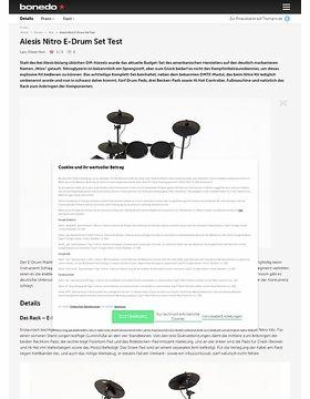 Alesis Nitro E-Drum Set