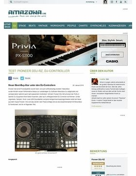 Test: Pioneer DDJ-RZ, DJ-Controller