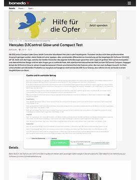 Hercules DJControl Glow und Compact