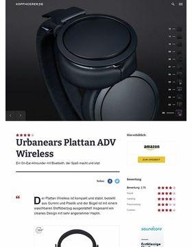 Plattan ADV Wireless Black
