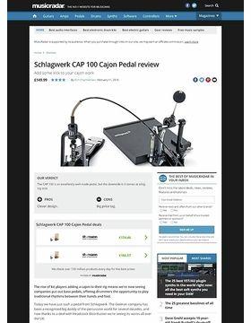 CAP100 Cajon Pedal incl. Board