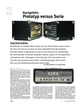 Engl Artist Edition vs Prototyp, Röhren-Topteile