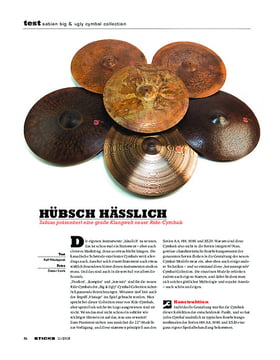 Sabian Big & Ugly Cymbal Collection