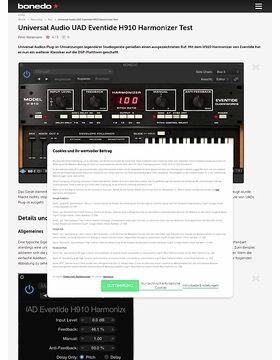 Universal Audio UAD Eventide H910 Harmonizer Test