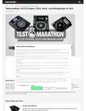 Testmarathon: DJ CD-Player, Mediaplayer und DJ-Turntables