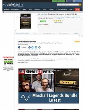 Universal Audio Softube Marshall Legends Bundle for UAD