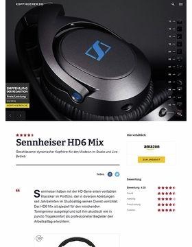 Sennheiser HD-6 MIX