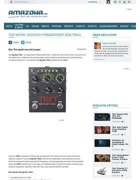 TOP NEWS: Digitech präsentiert den Trio+