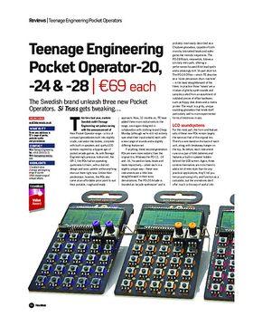 Teenage Engineering Pocket Operator-20, -24 & -28