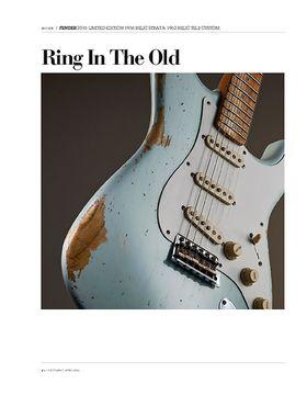 Fender 2016 Limited 1956 Relic Strat & 1962 Relic Tele Custom