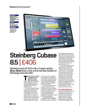 Steinberg Cubase 8.5