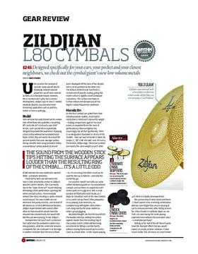 Zildjian L80 Cymbals