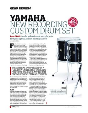Yamaha New Recording Custom Drum Set
