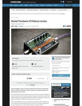 Radial Tonebone PZ-Deluxe
