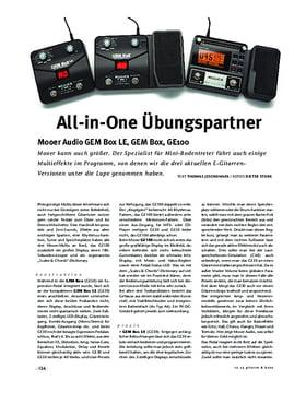 Mooer Audio GEM Box LE, GEM Box, GE100