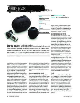 Shure MV88 - Mikrofonaufsatz für iOS-Geräte