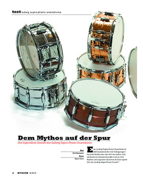 Ludwig Supra-Phonic Snaredrums