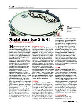 Meinl Backbeat Tambourine