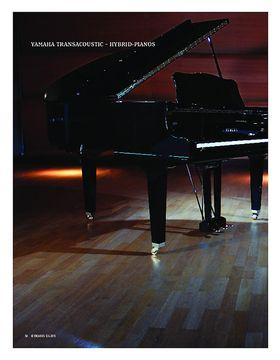 Yamaha TransAcoustic - Akustische Hybrid-Pianos