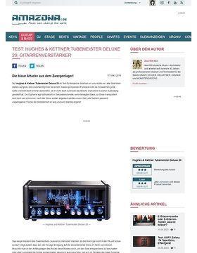 Test: Hughes & Kettner Tubemeister Deluxe 20, Gitarrenverstärker