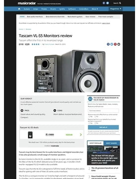Tascam VL-S5 Monitors