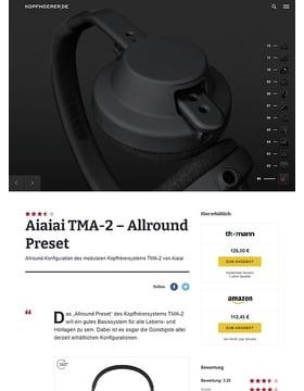 Aiaiai TMA-2 Modular All-Round Preset