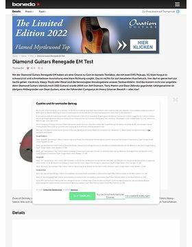 Diamond Guitars Renegade EM