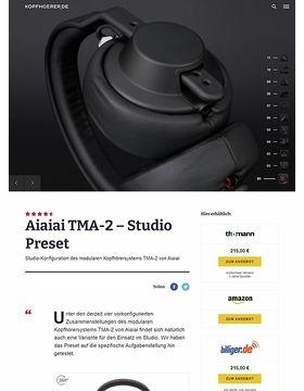 Aiaiai TMA-2 Modular Studio Preset