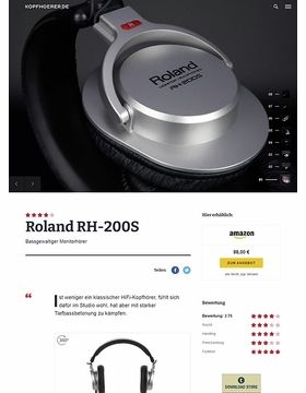 Roland RH-200-S