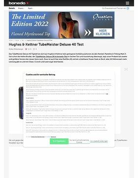 Hughes & Kettner TubeMeister Deluxe 40
