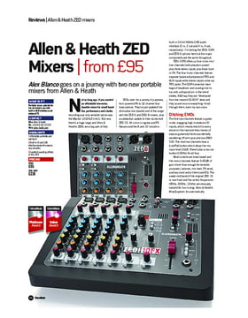 Allen & Heath ZED Mixers