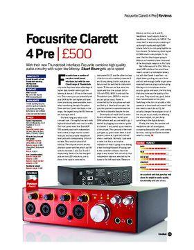 Focusrite Clarett 4 Pre