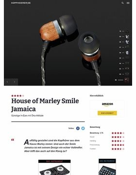 House of Marley Smile Jamaica Midnight