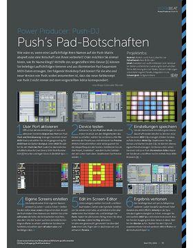 Power Producer: Push's Pad-Botschaften
