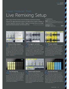 Power Producer: Live Remixing Setup
