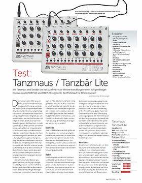 Tanzmaus / Tanzbär Lite