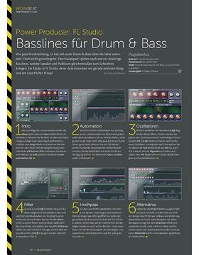 Power Producer: Basslines für Drum & Bass