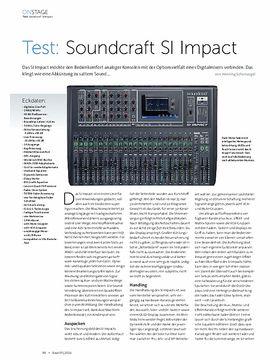 Soundcraft SI Impact