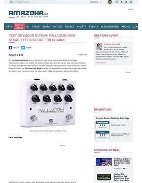 Test: Seymour Duncan Palladium Gain Stage, Effektgerät für Gitarre