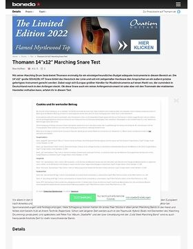 Thomann 14x12 Marching Snare
