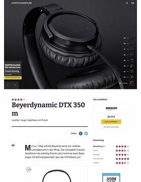 Beyerdynamic DTX-350m Black