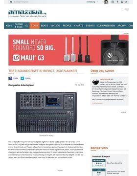 Test: Soundcraft Si Impact, Digitalmixer