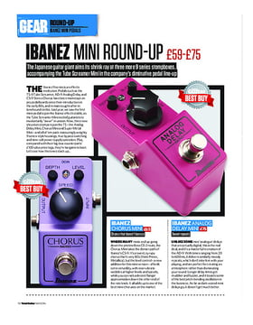 Ibanez Mini Round-Up