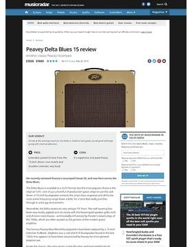 Delta Blues 115 Tweed