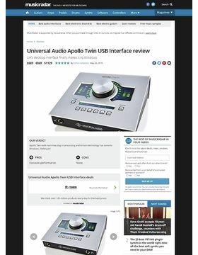 Universal Audio Apollo Twin USB Interface