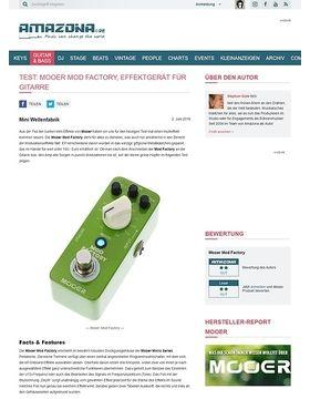 Test: Mooer Mod Factory, Effektgerät für Gitarre