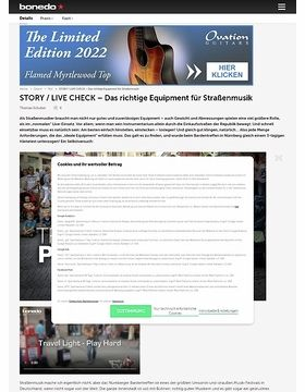 Travel Light - Play Hard: Das richtige Equipment für Straßenmusik