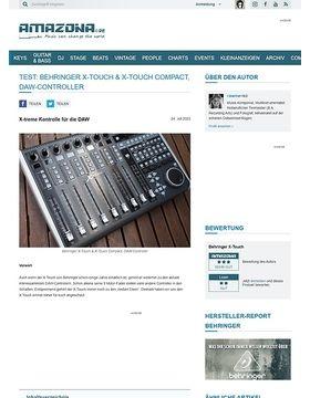 Test: Behringer X-Touch, DAW-Controller